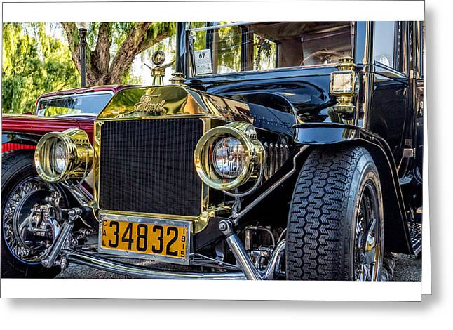 Ford Model T Car Greeting Cards - 1915 Ford Model T Greeting Card by Steve Benefiel
