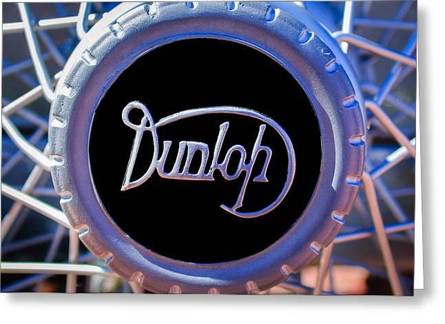 1915 Greeting Cards - 1915 Rolls-Royce 40-50 HP Silver Ghost London-Edinburgh Tourer Wheel Emblem Greeting Card by Jill Reger