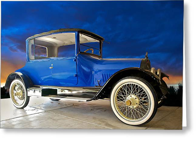 Cole Greeting Cards - 1916 Cole Touring Coupe Greeting Card by Dave Koontz