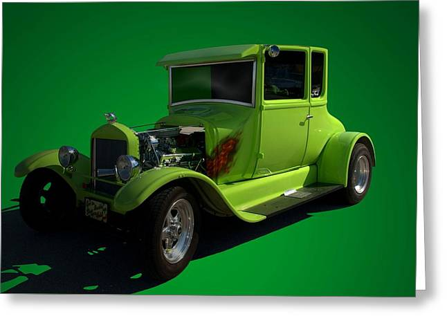 Ford Model T Car Greeting Cards - 1926 Ford Model T  Hot Rod Greeting Card by Tim McCullough