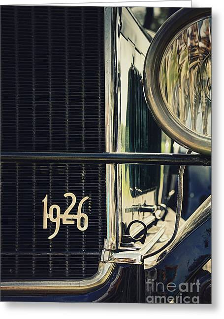 Ford Model T Car Greeting Cards - 1926 Greeting Card by Margie Hurwich