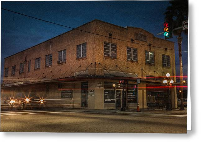 Ybor City Greeting Cards - 1927 Building Greeting Card by Ybor Photography