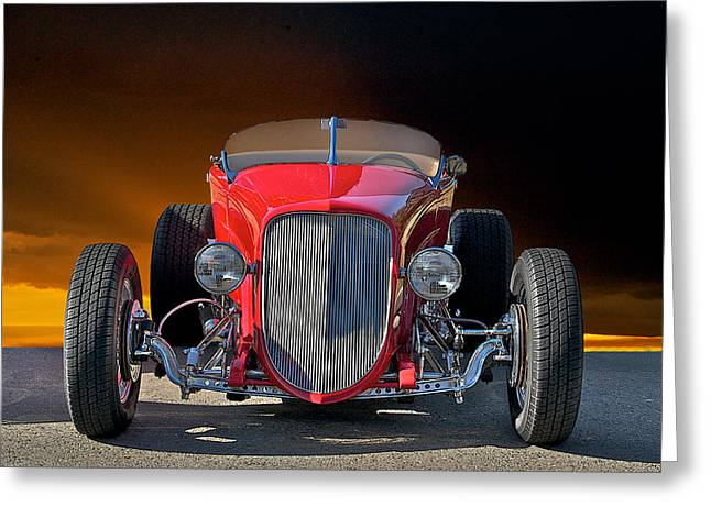 1927 Ford 'lakester' II Greeting Card by Dave Koontz