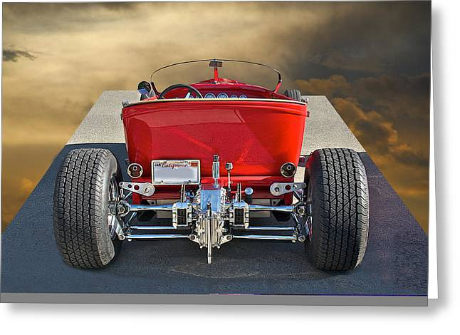 1927 Ford 'lakester' IIi Greeting Card by Dave Koontz