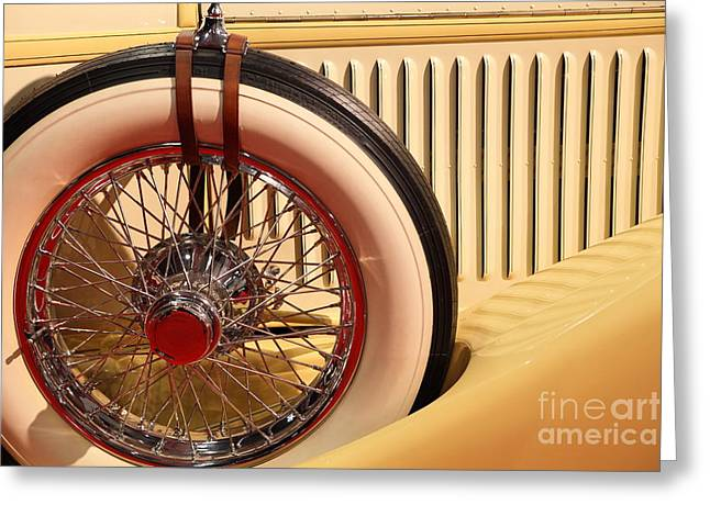 Suiza Greeting Cards - 1928 Hispano Suiza H6C Transformable Torpedo by Hibbard and Darrin 5D26716 Greeting Card by Wingsdomain Art and Photography