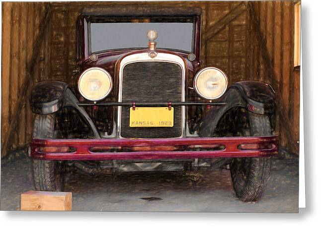 Customizable Greeting Cards - 1929 Nash Greeting Card by L Wright