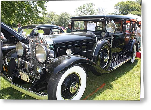 16-year-old Greeting Cards - 1930 Cadillac V-16 Imperial Limousine Greeting Card by John Telfer
