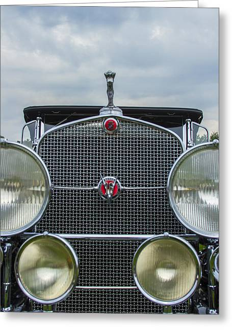 Jack R Perry Greeting Cards - 1930 Cadillac V-16 Greeting Card by Jack R Perry