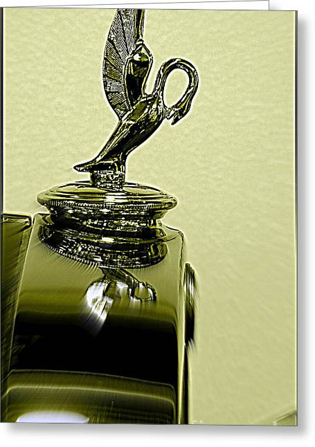 Purchase Greeting Cards - 1930 Studebakers Hood Ornament  Greeting Card by Kay Novy