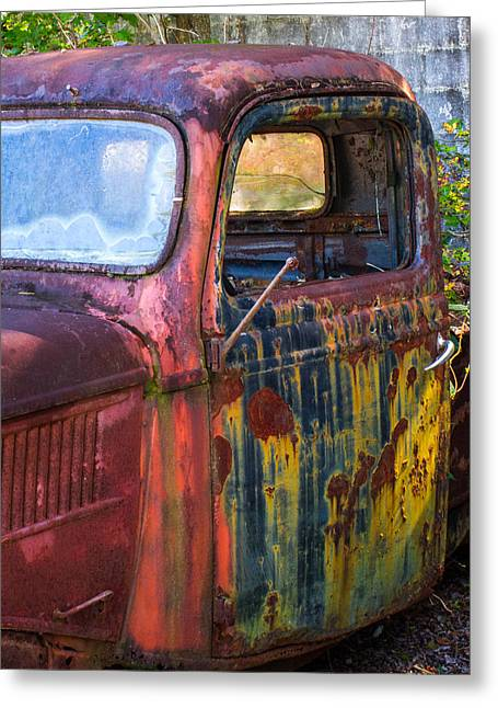 Pickup Truck Door Greeting Cards - 1930s Pickup Truck Greeting Card by Douglas Barnett