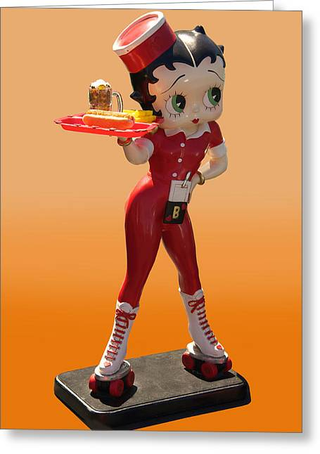 Family Car Greeting Cards - 1932 Betty Boop I Greeting Card by Dave Koontz