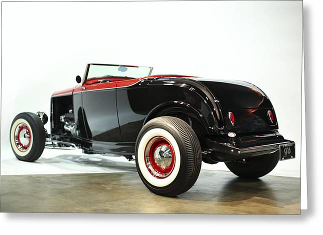 1932 Ford Greeting Cards - 1932 Ford Deuce Roadster Greeting Card by Gianfranco Weiss