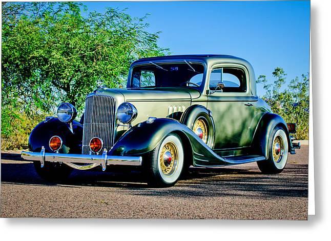 1933 Pontiac Greeting Cards - 1933 Pontiac -0011c Greeting Card by Jill Reger