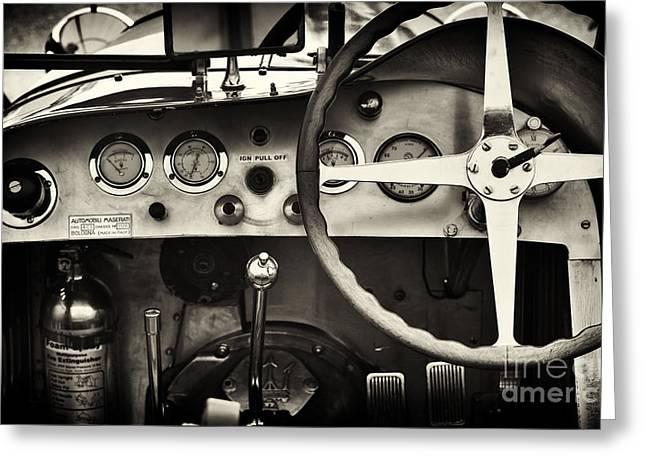 1935 Maserati 4cs Greeting Card by Tim Gainey