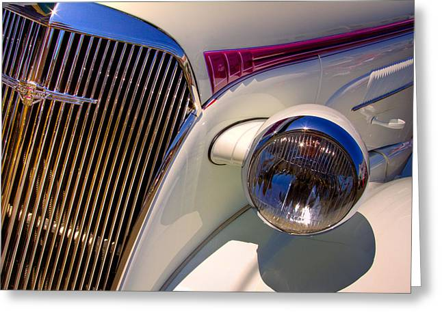 1937 Chevy 4 Door Sedan Greeting Card by David Patterson