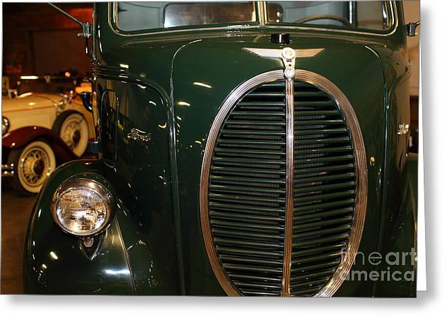 Aaa Greeting Cards - 1940 Ford Cabover Tow Truck 5D25756 Greeting Card by Wingsdomain Art and Photography