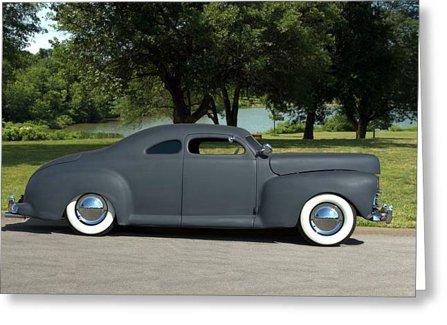 1951 Greeting Cards - 1941 Ford Custom Hot Rod Greeting Card by Tim McCullough