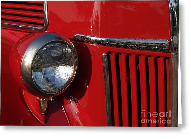 Classic Pickup Photographs Greeting Cards - 1941 Ford Flatbed Classic Greeting Card by Anna Lisa Yoder