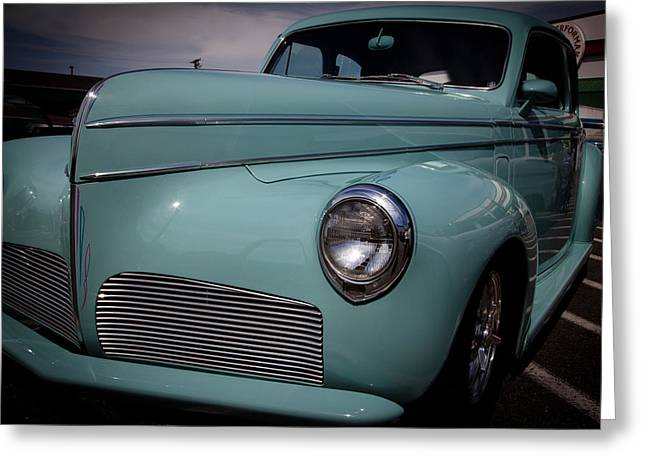Radiator Badge Greeting Cards - 1941 Studebaker Commander Greeting Card by David Patterson