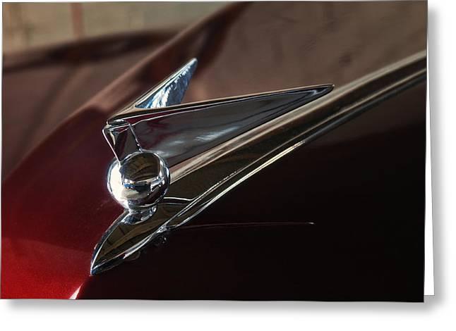 1946 Lincoln Continental Greeting Card by Kurt Golgart