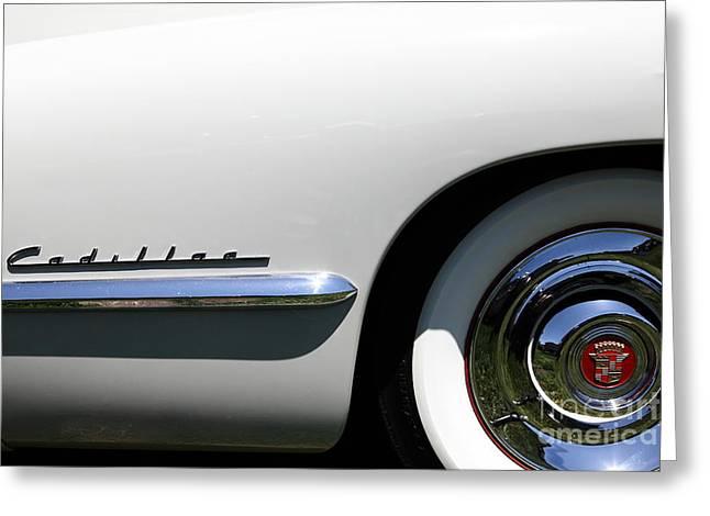 1947 Cadillac Greeting Cards - 1947 Cadillac Series 62 Sedan 5D22826 Greeting Card by Wingsdomain Art and Photography