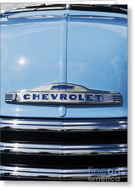 Chevrolet 3100 Greeting Cards - 1947 Chevrolet 3100 pickup Greeting Card by Tim Gainey