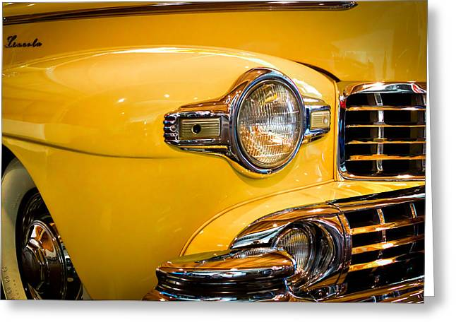 Car 47 Greeting Cards - 1947 Lincoln Continental Model 76H Greeting Card by David Patterson