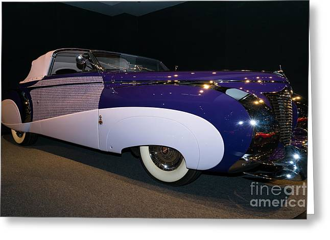 Caddy Greeting Cards - 1948 Cadillac Series 62 Cabriolet DSC2543 Greeting Card by Wingsdomain Art and Photography