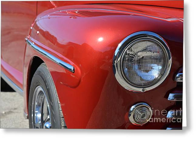 Basement Art Greeting Cards - 1948 Ford Coupe 2 Greeting Card by Barbara Dalton