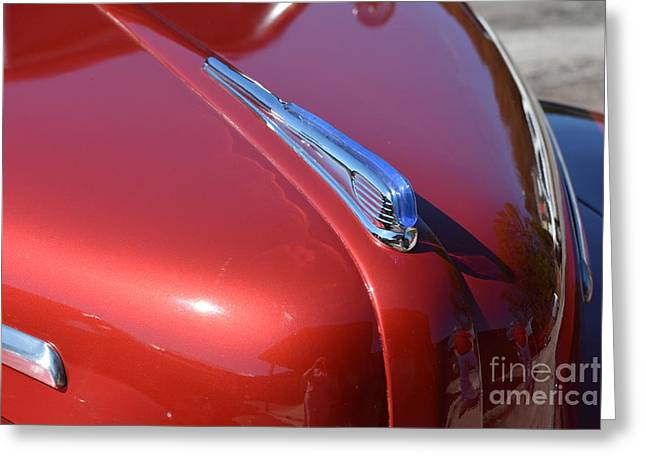 Basement Art Greeting Cards - 1948 Ford Coupe Vintage Car 8 Greeting Card by Barbara Dalton