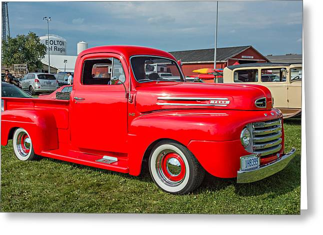 1948 Ford Pickup Greeting Card by Steve Harrington
