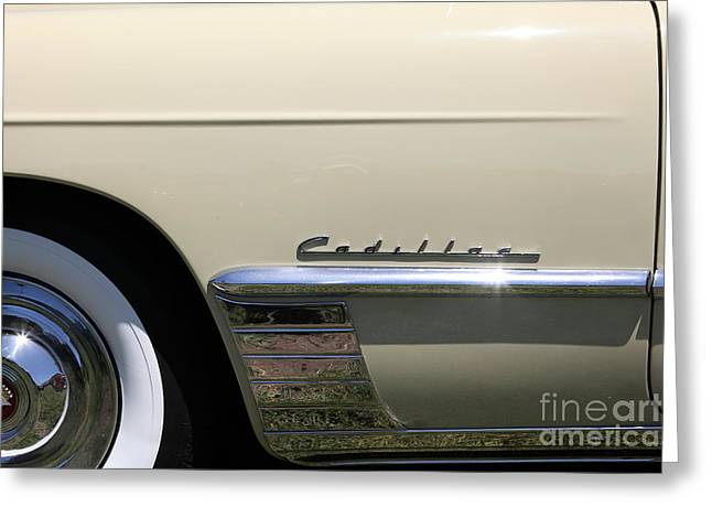 Caddy Greeting Cards - 1949 Cadillac Series 62 Convertible 5D23092 Greeting Card by Wingsdomain Art and Photography