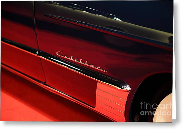 Caddy Greeting Cards - 1949 Cadillac Series 62 Coupe De Ville 5D26642 Greeting Card by Wingsdomain Art and Photography