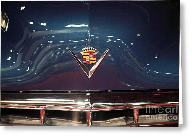 Caddy Greeting Cards - 1949 Cadillac Series 62 Coupe De Ville 5D26644 Greeting Card by Wingsdomain Art and Photography