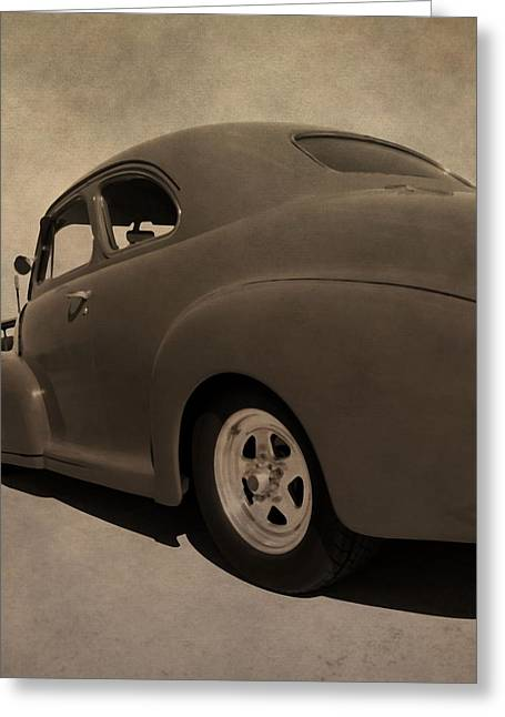 Fleetmaster Greeting Cards - 1949 Chevy Fleetline Greeting Card by Dan Sproul