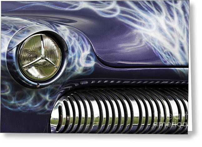 Custom Grill Greeting Cards - 1949 Mercury Eight Hot Rod Greeting Card by Tim Gainey