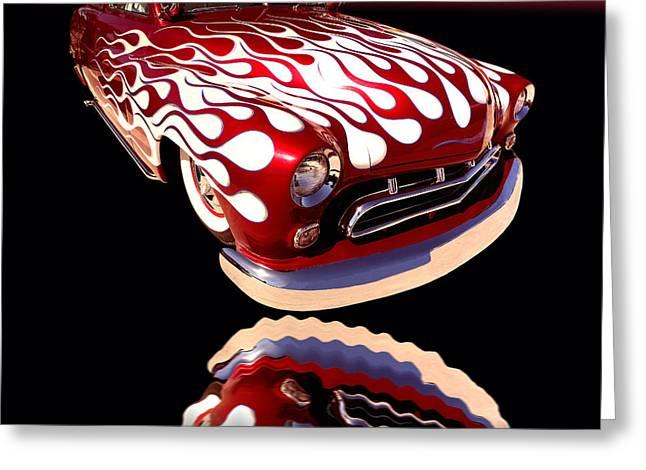 1951 Mercury Sedan Greeting Card by Jim Carrell