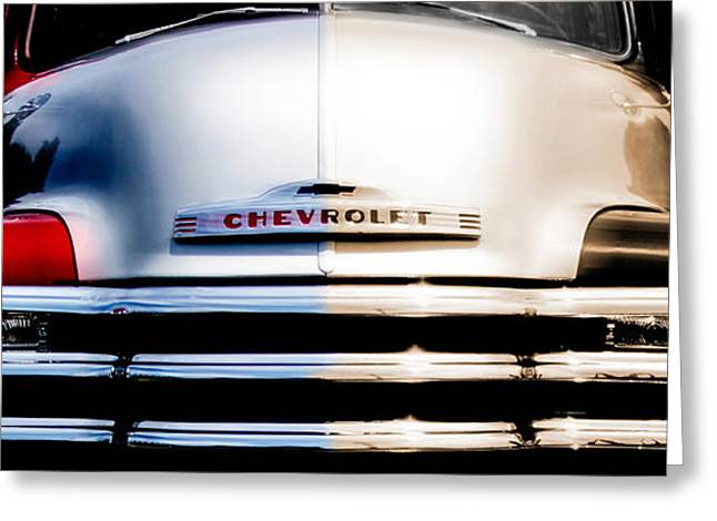 Chevrolet Pickup Truck Digital Greeting Cards - 1952 Chevy Pickup Truck Greeting Card by Steven  Digman