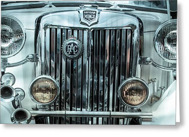 1952 MG Greeting Card by Steven  Digman