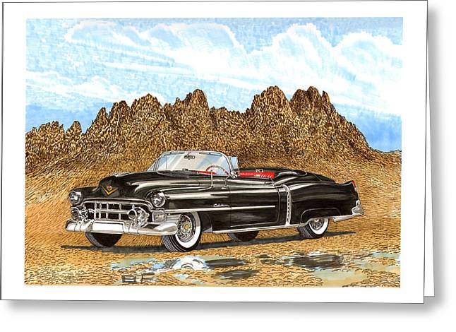 1953 Cadillac Eldorado Biarritz Greeting Card by Jack Pumphrey