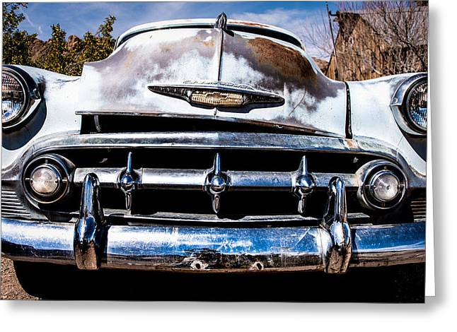 Dagmar Greeting Cards - 1953 Chevy Bel Air Greeting Card by  Onyonet  Photo Studios