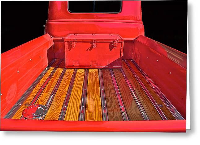 Slam Greeting Cards - 1953 Chevy Pick-Up Greeting Card by Dave Koontz