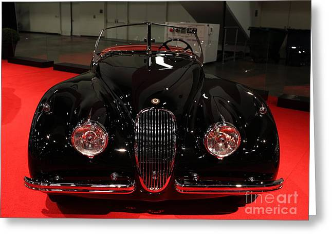 1953 Jaguar XK 120 SE Roadster - 5D19930 Greeting Card by Wingsdomain Art and Photography