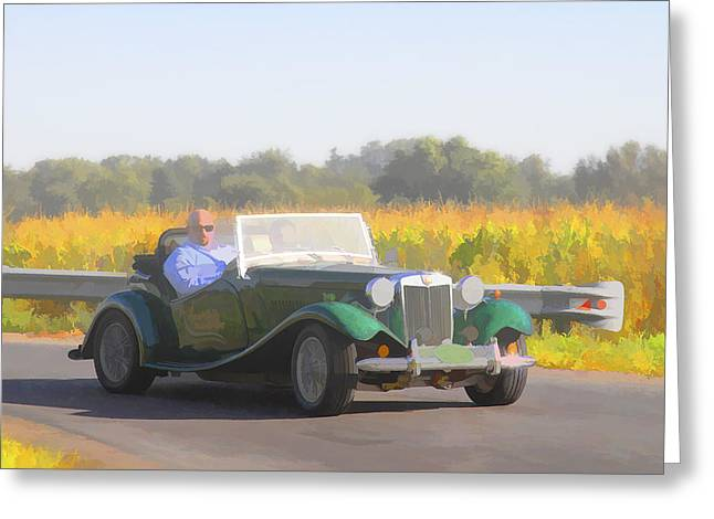 Jack R Perry Greeting Cards - 1953 Mg Td Greeting Card by Jack R Perry