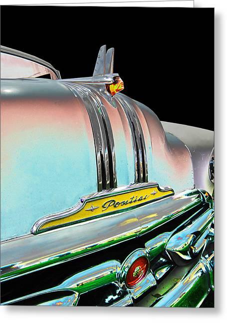 1953 Pontiac Greeting Cards - 1953 Pontiac Greeting Card by Allan Price
