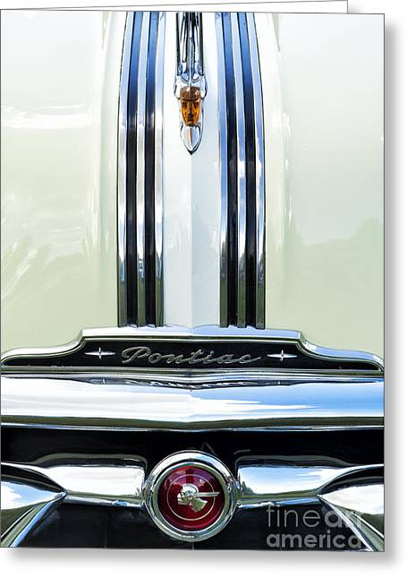 Pontiac Motors Division Greeting Cards - 1953 Pontiac Chieftain Greeting Card by Tim Gainey