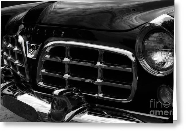 American Automobiles Greeting Cards - 1955 Chrysler 300 Greeting Card by Steven  Digman