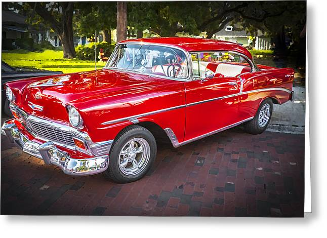 1956 Chevrolet 210 Bel Air Greeting Card by Rich Franco