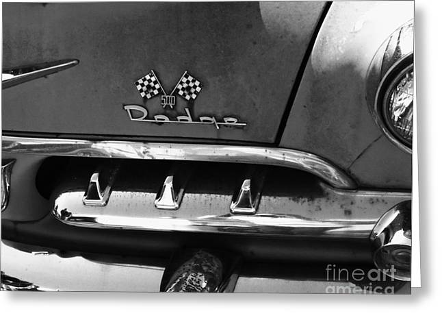 1956 Dodge 500 Series Photo 2 Greeting Card by Anna Villarreal Garbis