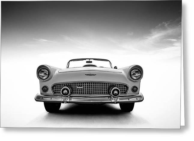 Classic Ford Greeting Cards - 1956 Thunderbird Greeting Card by Douglas Pittman